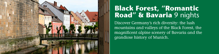 "Black Forest, ""Romantic Road"" & Bavaria9 nights"