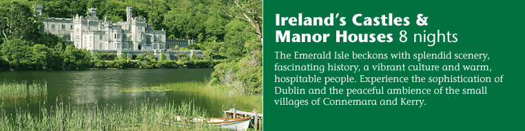 Ireland's Castles & Manor Houses 8 nights